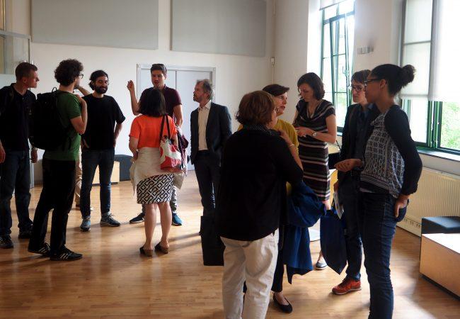 Diskurs-Teilnehmer*innen bei VIA