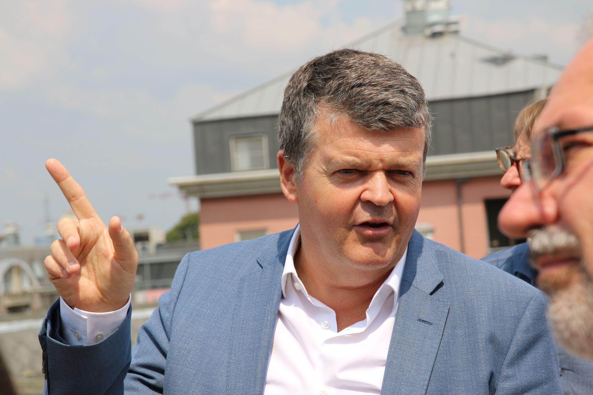 Bürgermeister von Mechelen Bart Somers